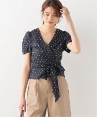 【ALEX MILL】 LIV WRAP TOP IN POPPY PRINT