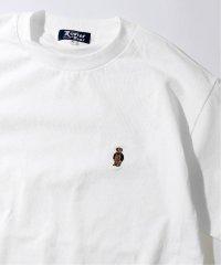 《予約》【ROSTER BEAR / ロスター ベア】別注 wearing overalls Tシャツ