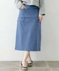【WAREHOUSE】アウトポケットデニムスカート
