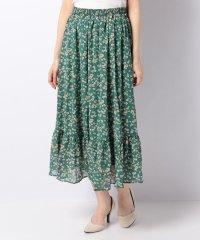 【WAREHOUSE】小花柄フレアスカート