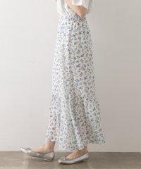 【WAREHOUSE】花柄シフォンスカート