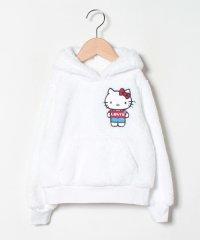 【KIDS】Hello Kitty Sherpa Hoodie Whit