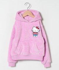 【KIDS】Hello Kitty Sherpa Hoodie Pink
