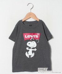【KIDS】SNOOPY BATWING CHARCOAL HEATHE