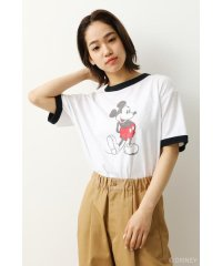 (Mickey)リンガーTシャツ