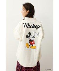 (Mickey)オーバーシルエットシャツ