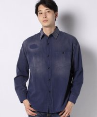 LVC 1950S WORK SHIRT DUSTY BLUE