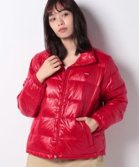 VALERIE DOWN PACKBLE JKT BRILLIANT RED