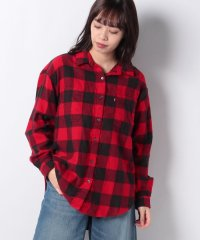 UTILITY SHIRT GIBBON BRILLIANT RED PLAID