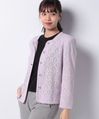レース編みジャケット