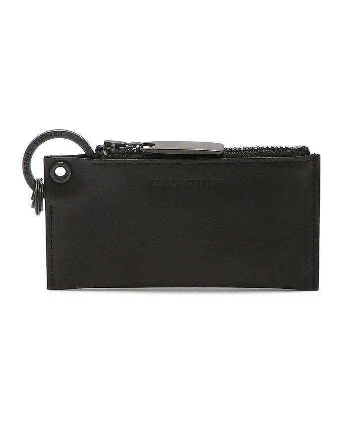 (RoyalFlash/ロイヤルフラッシュ)PATRICK STEPHAN/パトリックステファン/Leather key case & holder/キーケース キーホルダー/171AAO28/メンズ BLACK
