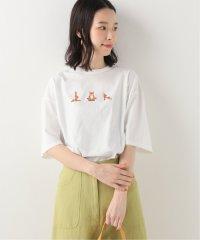 【MAISON KITSUNE】 YOGA FOX PRINT Tシャツ