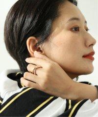 【Annika Inez / アニカ イネズ】Double Orbit RING GF/SS:リング