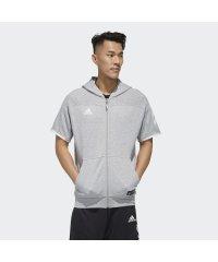 アディダス/メンズ/5T半袖スウェットジャケット