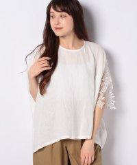 【mizuiro ind】linen one slv lace P/O