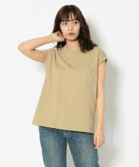 DANTON(ダントン)  ノースリーブポケットTシャツ