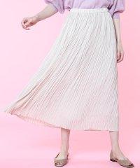 《大きいサイズ》プリーツスカート《Maglie par ef-de》