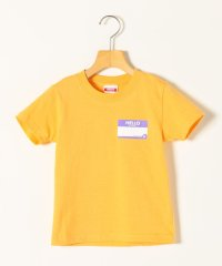 KICKIT:HELLO MY NAME IS プリント Tシャツ 100-140cm