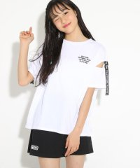★ニコラ掲載★袖テープTシャツ