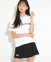 ★ニコラ掲載★【コットン100%】袖ビニールプリントTシャツ