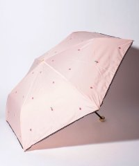 イチゴ柄晴雨兼用折りたたみ傘 雨傘