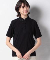 【ROCHAS Premiere】スカラップカラーポロシャツ