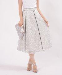 【セットアップ対応商品】N/Rコードレース フレアースカート