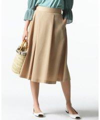 【洗える】リネンMIXライトスラブ スカート