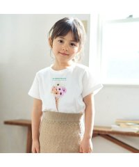 フラワーコーンTシャツ