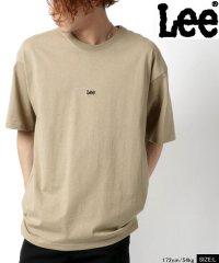 【別注】【Lee】リー ビッグシルエット ミニロゴ刺繍 半袖Tシャツ ユニセックス