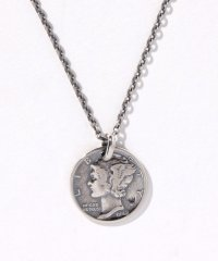 MERCURY COIN         NECKLACE SV