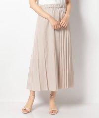 ヴィンテージサテンサイドプリーツスカート