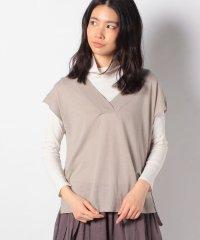 【MidiUmi】deep V neck wide vest
