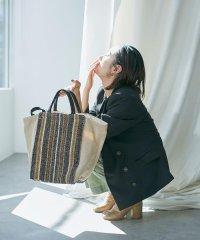 【Lilas Campbell× nano・universe by Nagisa Nagaya】別注 JUTESTRIPE BAG