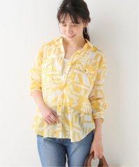 【ROSEanna/ローズアンナ】Abstract プリントシャツ