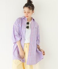 【DROLE DE MONSIEUR / ドロールドムッシュ】Check Oversized Shirt:シャツ