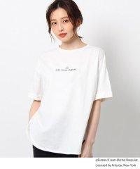 【バスキア/Basquiat】【前後2WAY】コラボフォトTシャツ