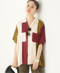 【MAISON EUREKA/メゾン・エウレカ】50S BOWLING PATCHWORK SHI:シャツ