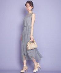 エアリーフラワープリーツ ドレス