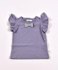 リボン袖フリルTシャツ(70cm~90cm)