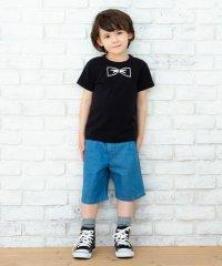 蝶ネクタイプリントTシャツ(100~130cm)