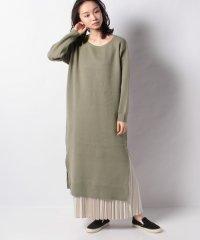 【DouDou】スカートセットニットワンピース