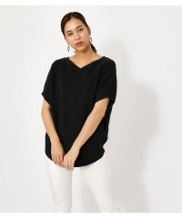 HALF SLEEVE 2WAY KNIT TOPS