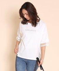 FENNEL(フェンネル) シースルーデザインプチロゴTシャツ