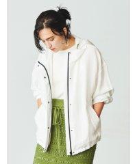 UVカットユーティリティフードジャケット