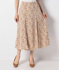 【WAREHOUSE】フラワープリントシフォンマキシスカート
