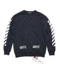 OFF-WHITE 3D WHITE CREWNECK オフホワイト スウェット クルーネック  DM20014617 メンズ