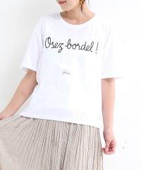 【Shaman】オーバーサイズロゴプリントTシャツ