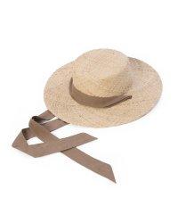 《Maglie par ef-de》リボンカンカン帽