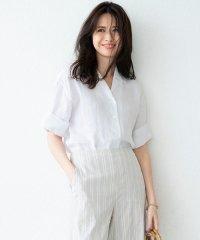 【マガジン掲載】LIBECO LINEN開襟 シャツ (番号K24)